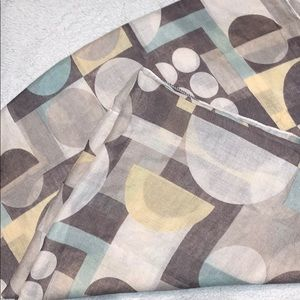 Patterned Scarf, Light weight